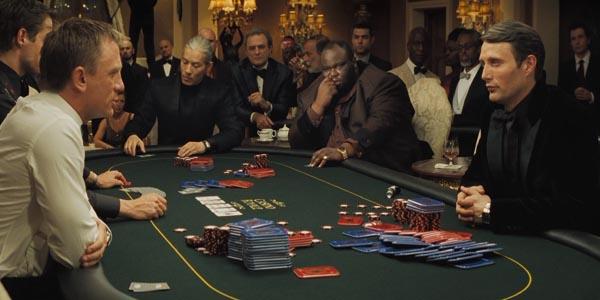 """""""Roulette is een casino spel dat in veel films voorkomt. Hier zie je bijvoorbeeld een scene uit Casino Royale (James Bond)"""""""